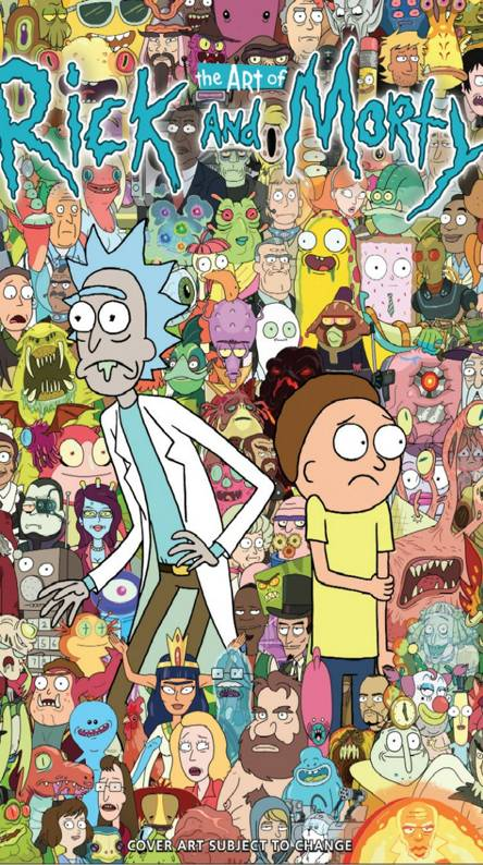 Rick Morty Collage