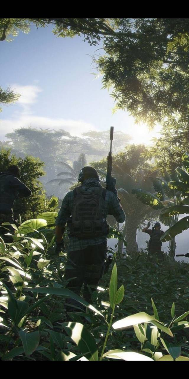 Jungle combat