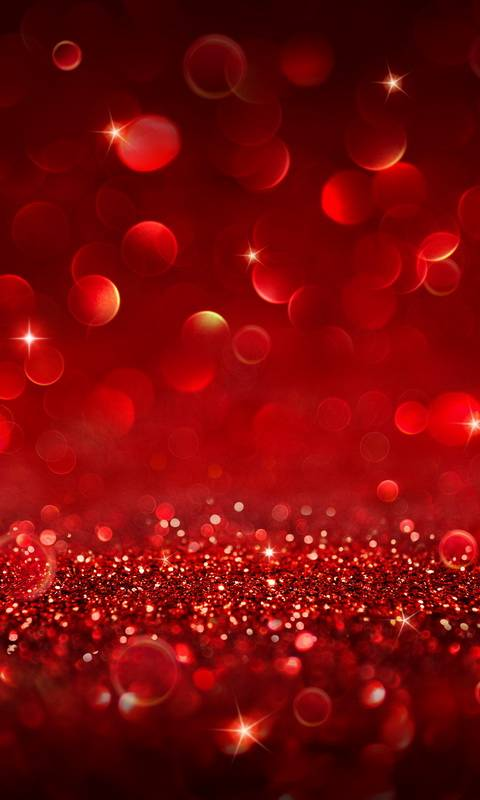 Red Glitter Wallpaper By S