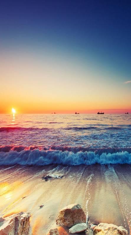 Beach  Sun