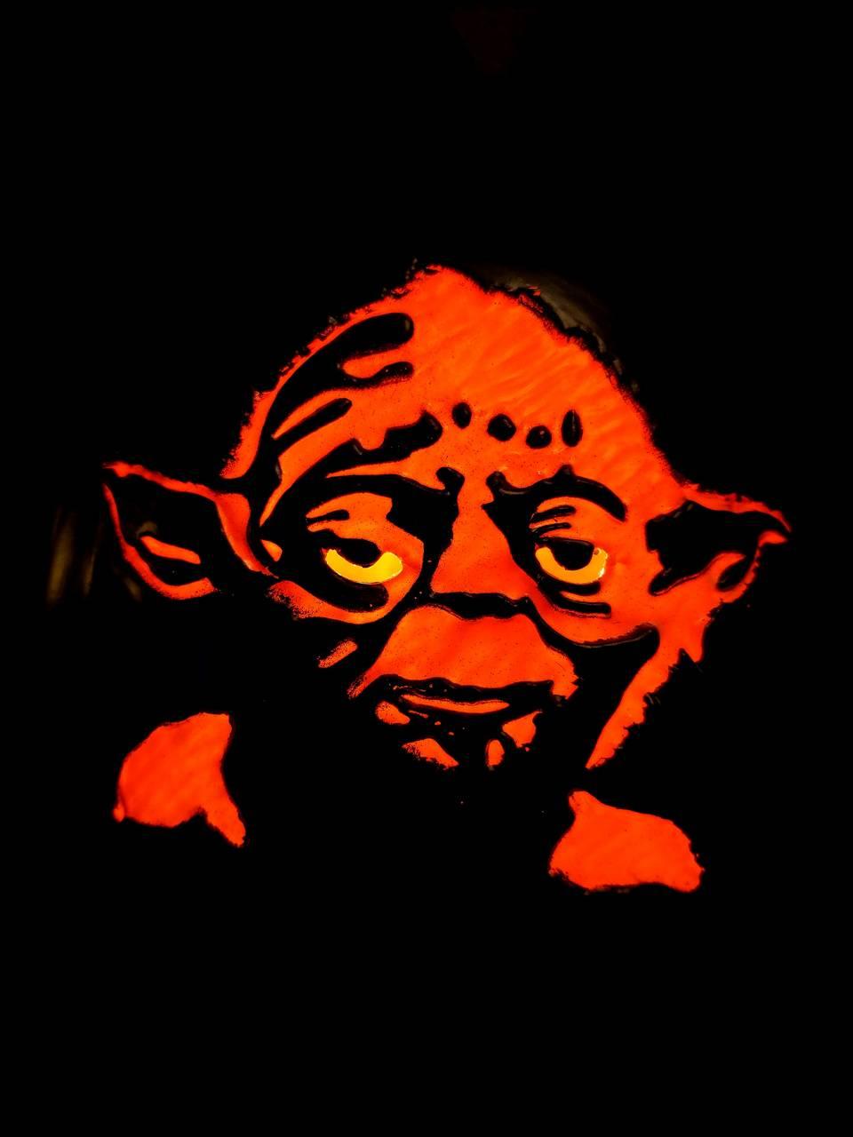 Halloween Yoda