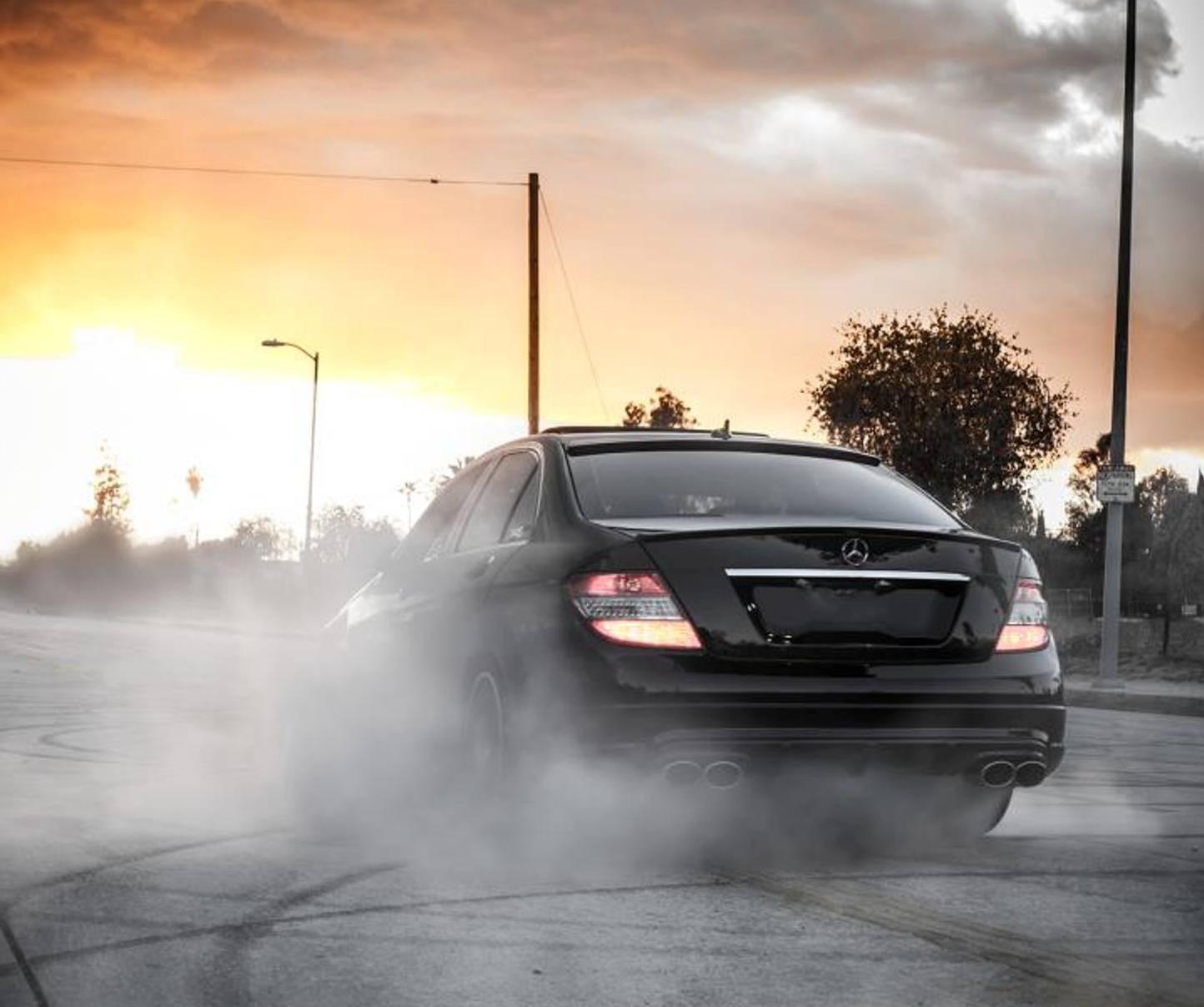 Mercedes Burn