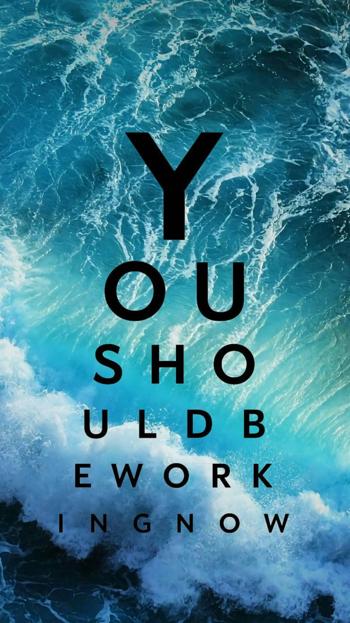 YouShouldBeWorking