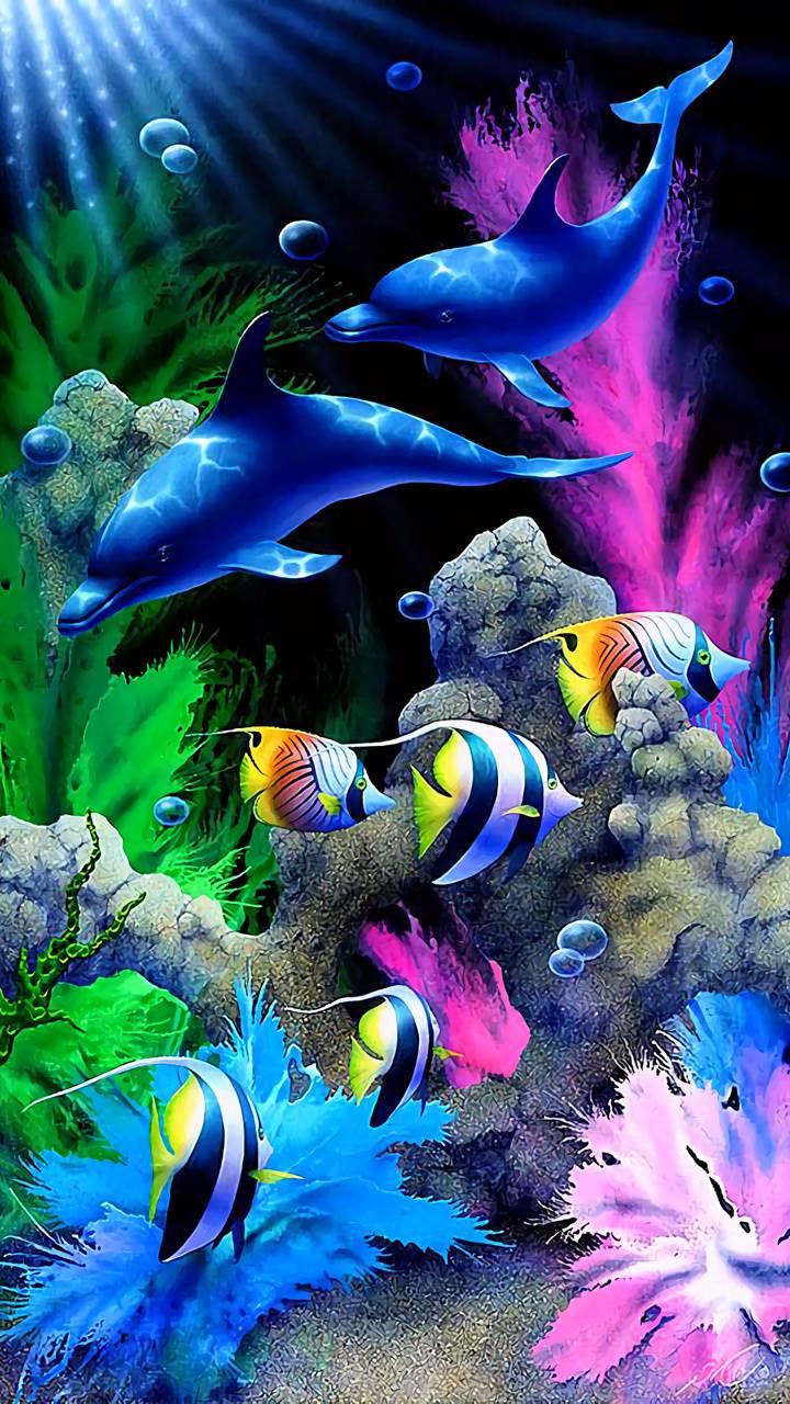 Fish Under Water Wallpaper By Ranasking 1f Free On Zedge
