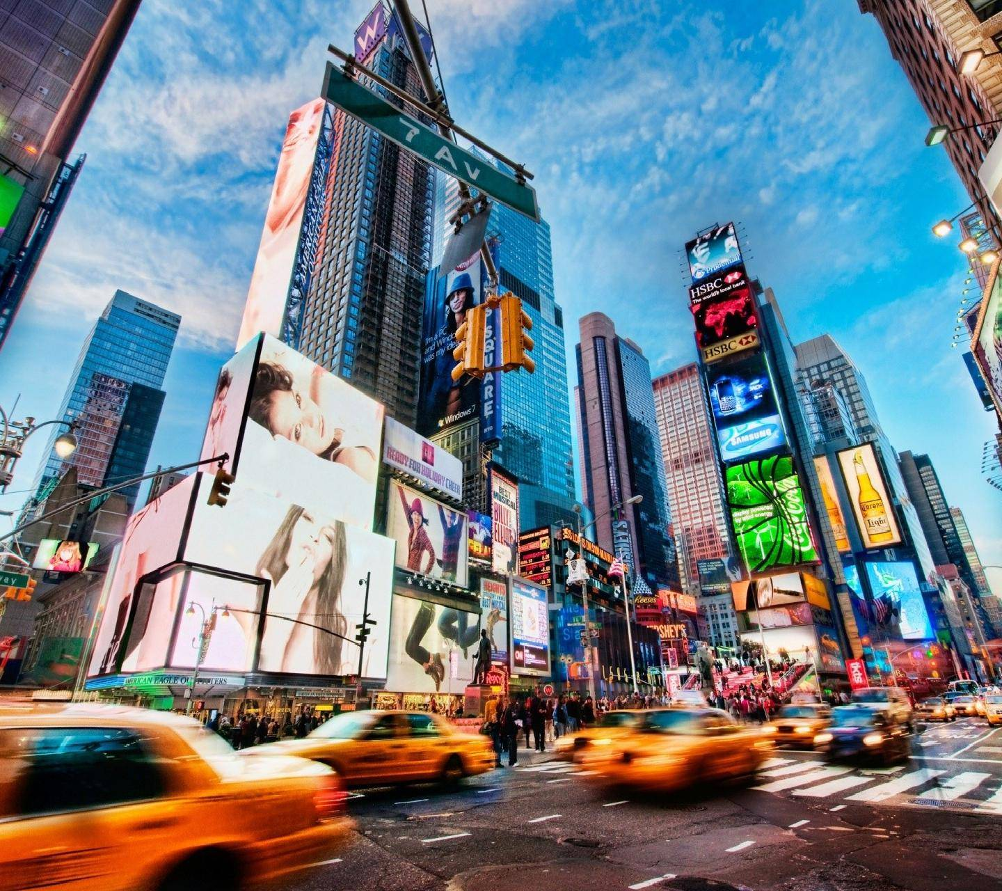 New York Time Square Wallpaper By Rohan Desai A9 Free On Zedge