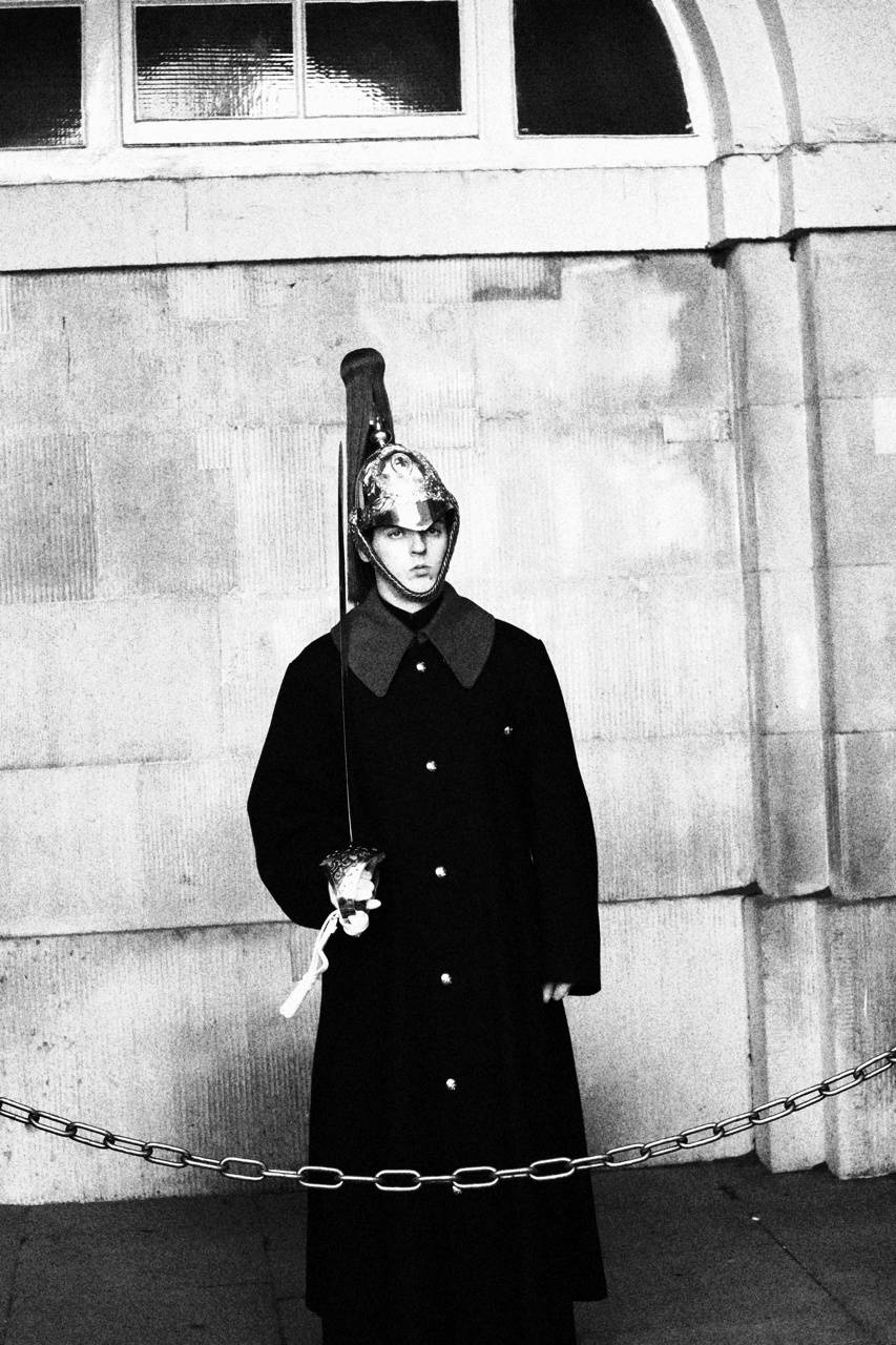 Guard in London