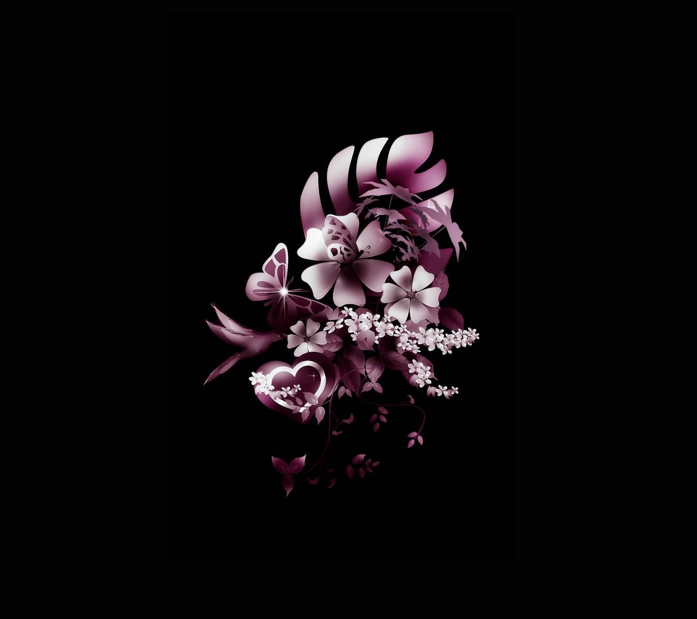Heart flower 7