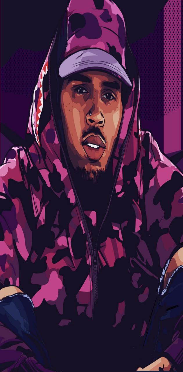 Chris Brown cartoon