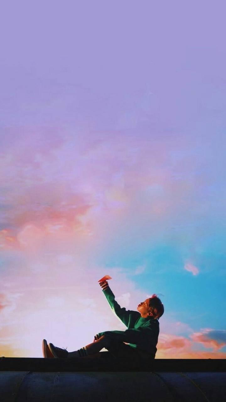 aesthetic Hobi sky