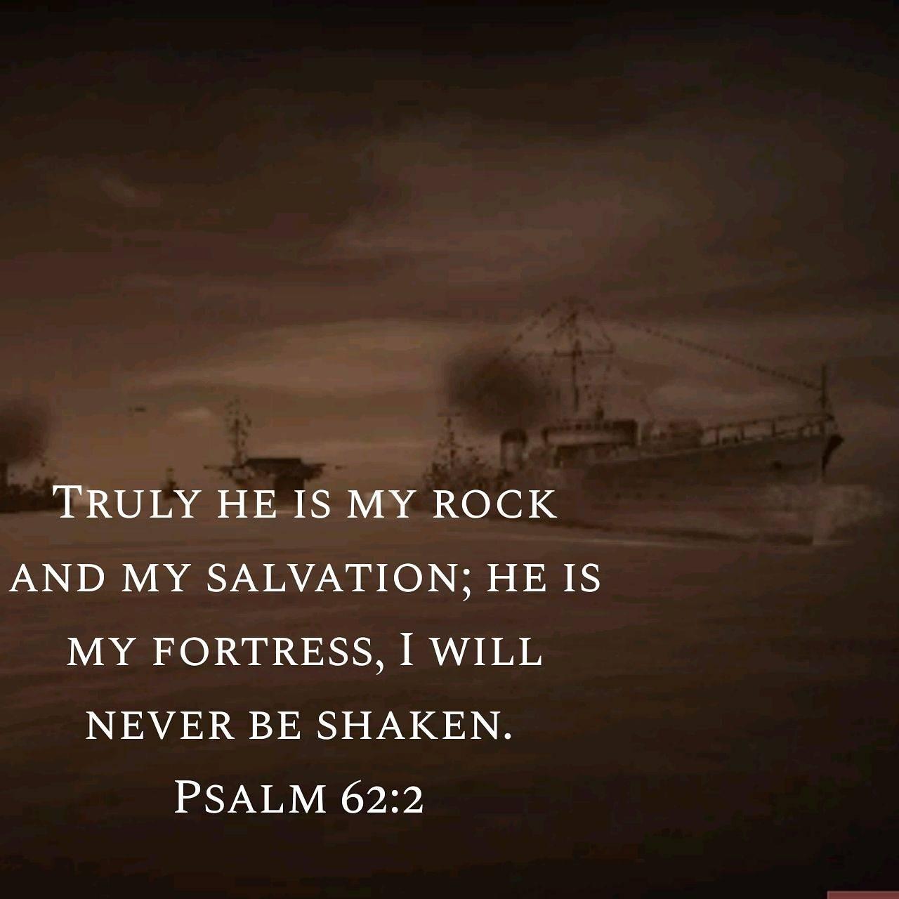 Psalm 62 2