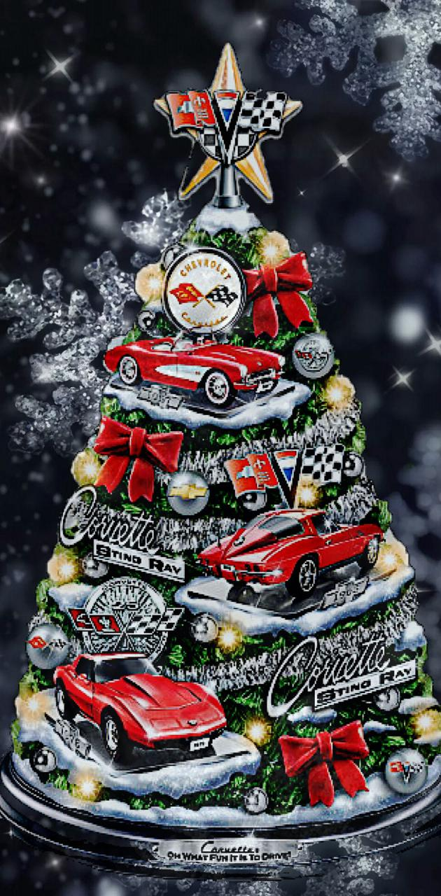 Corvette christmas