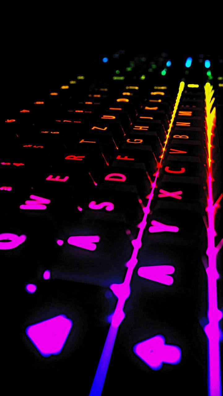 Gamer Neon Keyboard