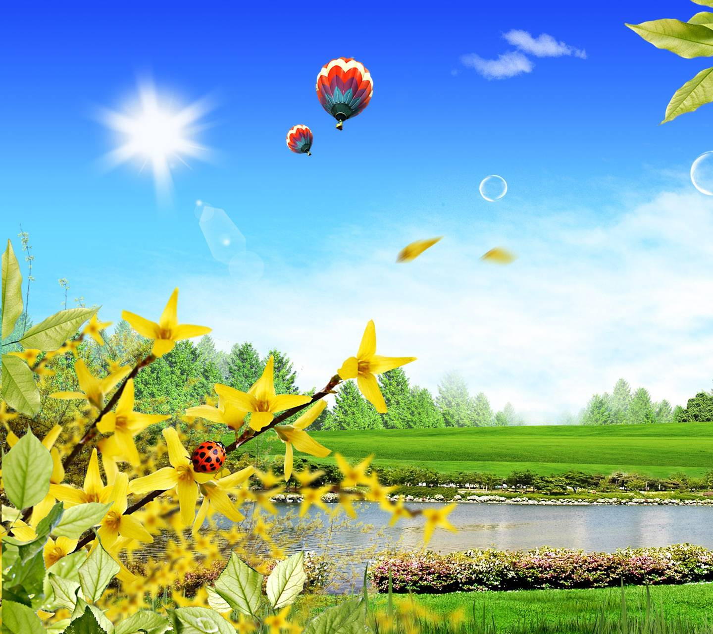 3d Beautiful Scenery Wallpaper By _Avispon217