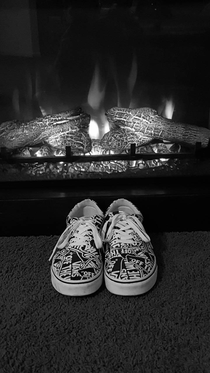 Vans Fire Place