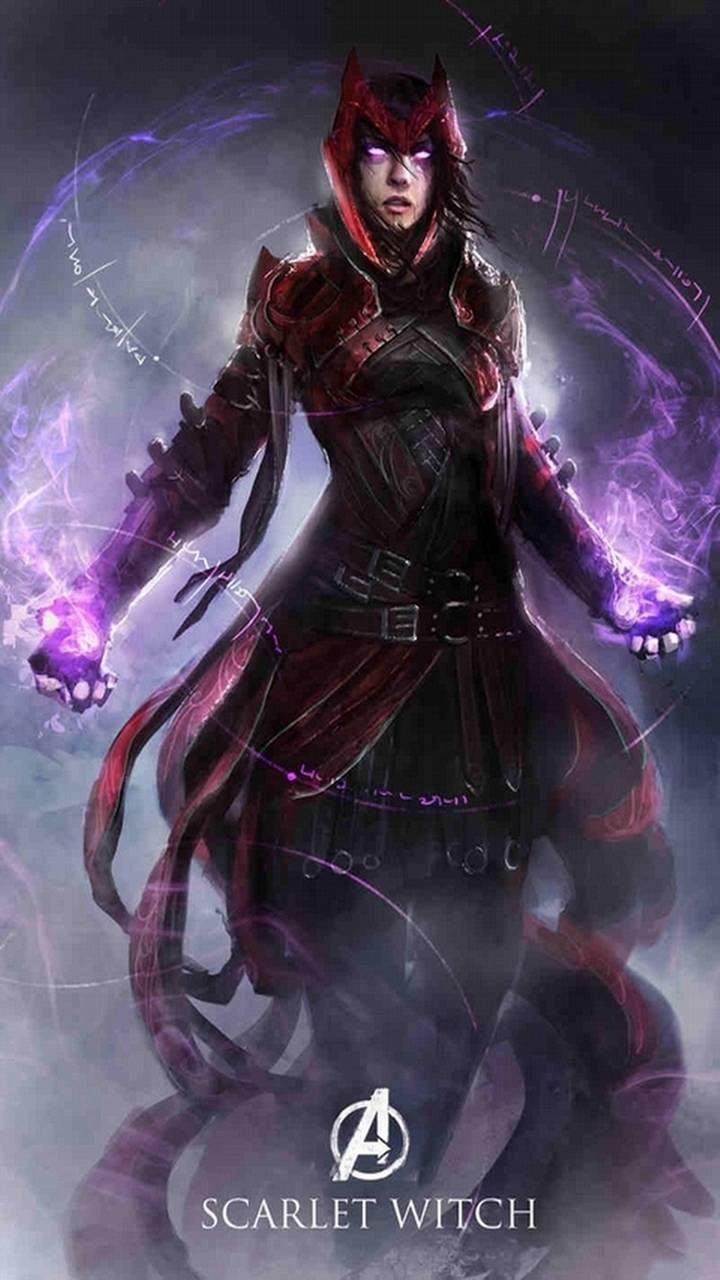 Scarlet Witch Wallpaper By TONY STARK