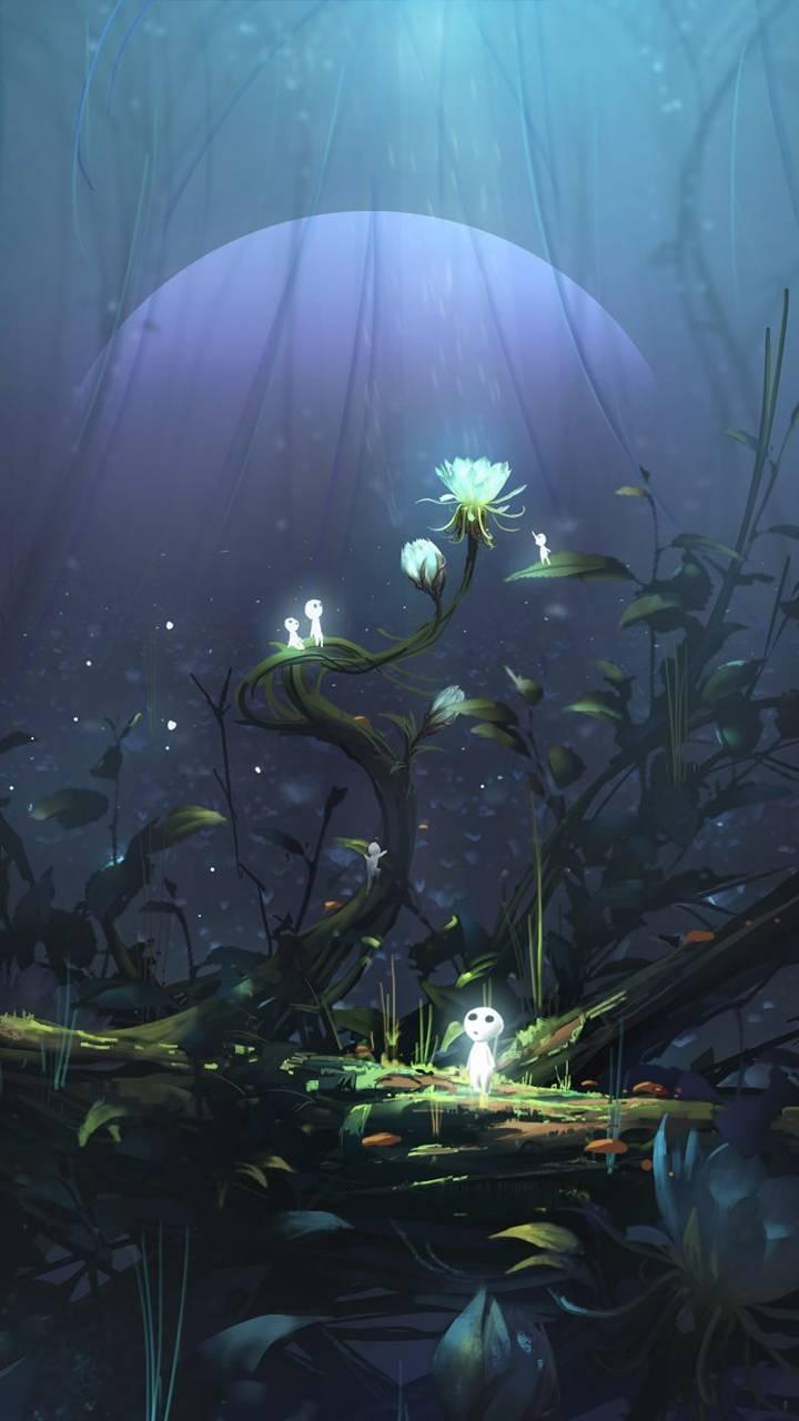 Princess mononoke wallpaper by agaaa k 4f free on zedge - Mononoke anime wallpaper ...