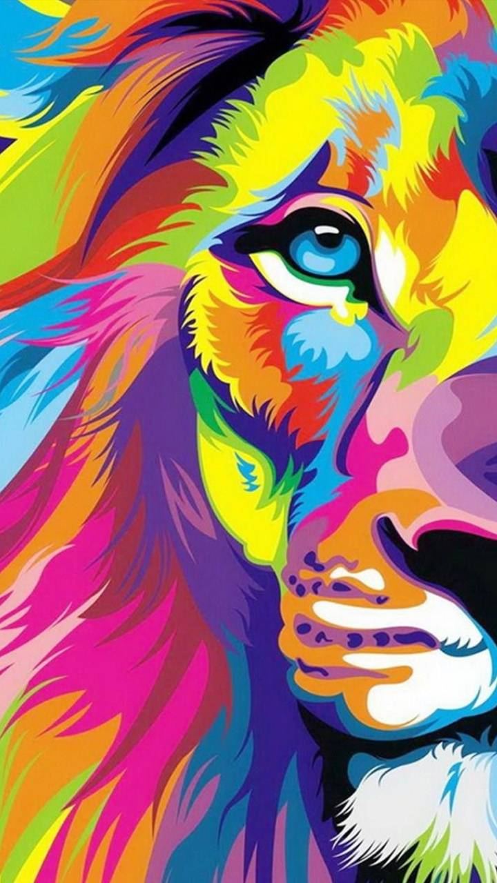 Colorful Tiger Wallpaper By Th3player5135 F5 Free On Zedge