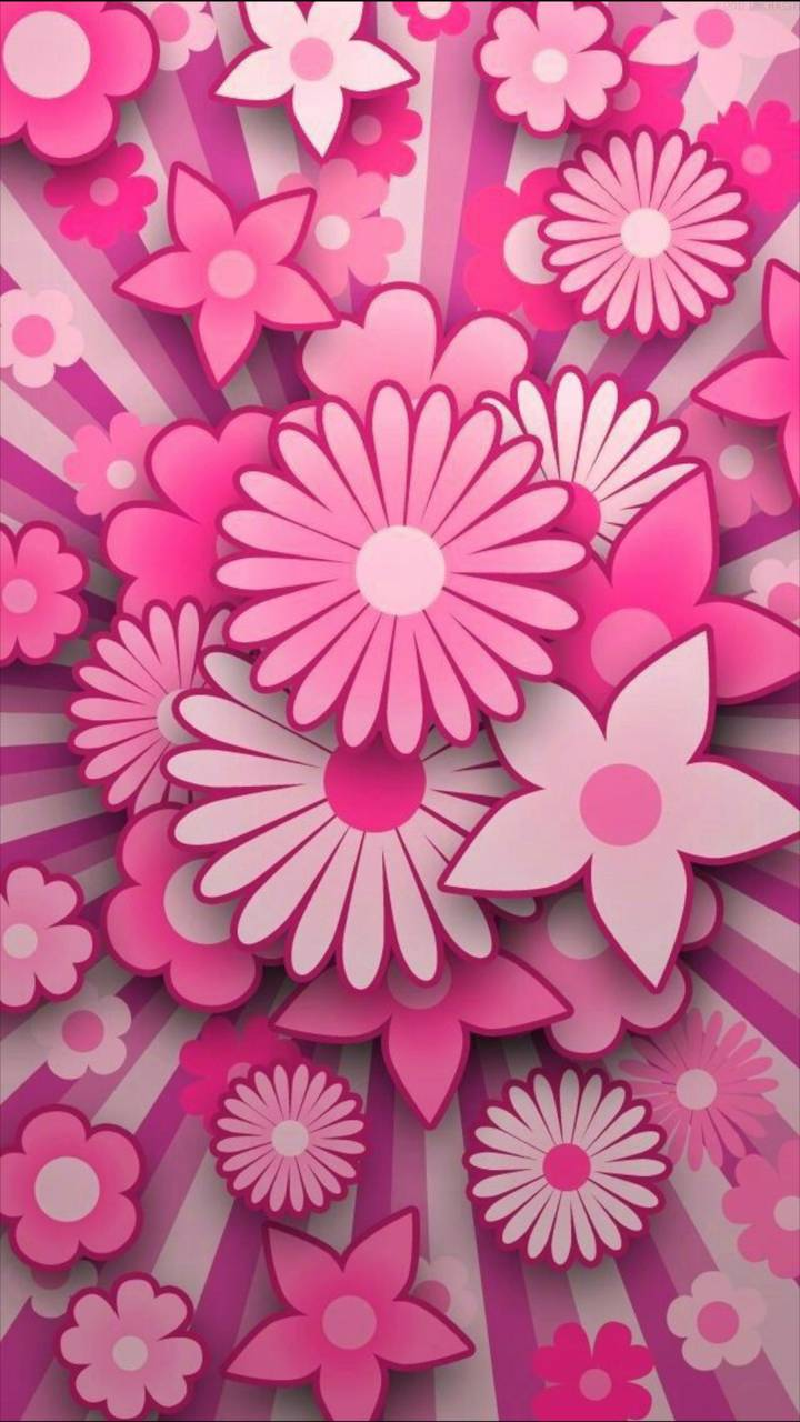 pink flowers Wallpaper by georgekev 0d Free on ZEDGE™