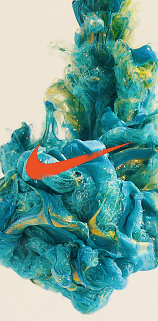 Nike in Paint