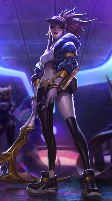 Kda Akali Ringtones And Wallpapers Free By Zedge