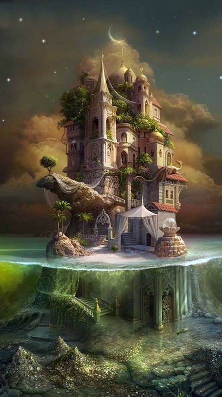 Fantasy Castle Wallpapers Free By Zedge