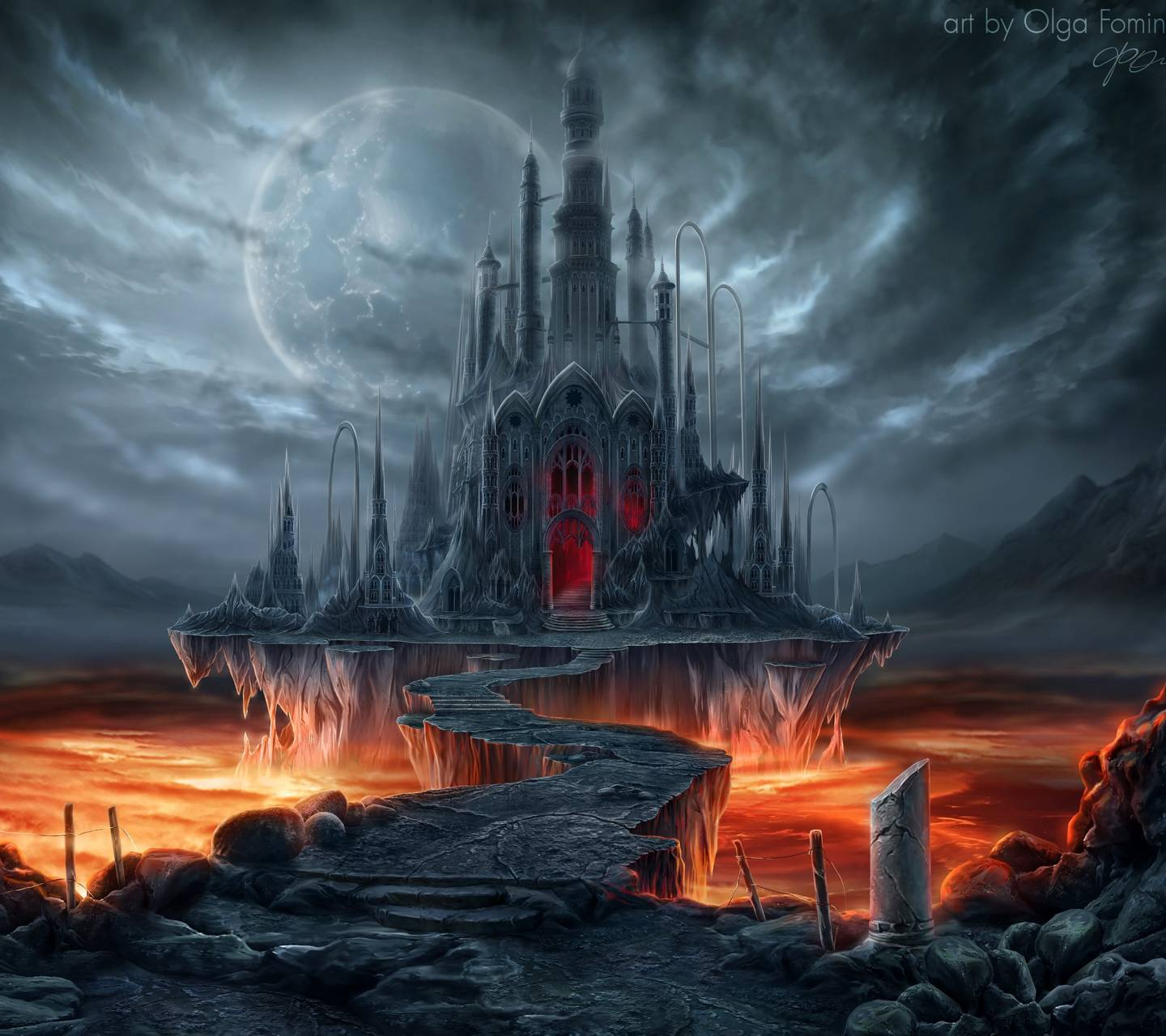 Vampire Castle Wallpaper By JD_Bowers