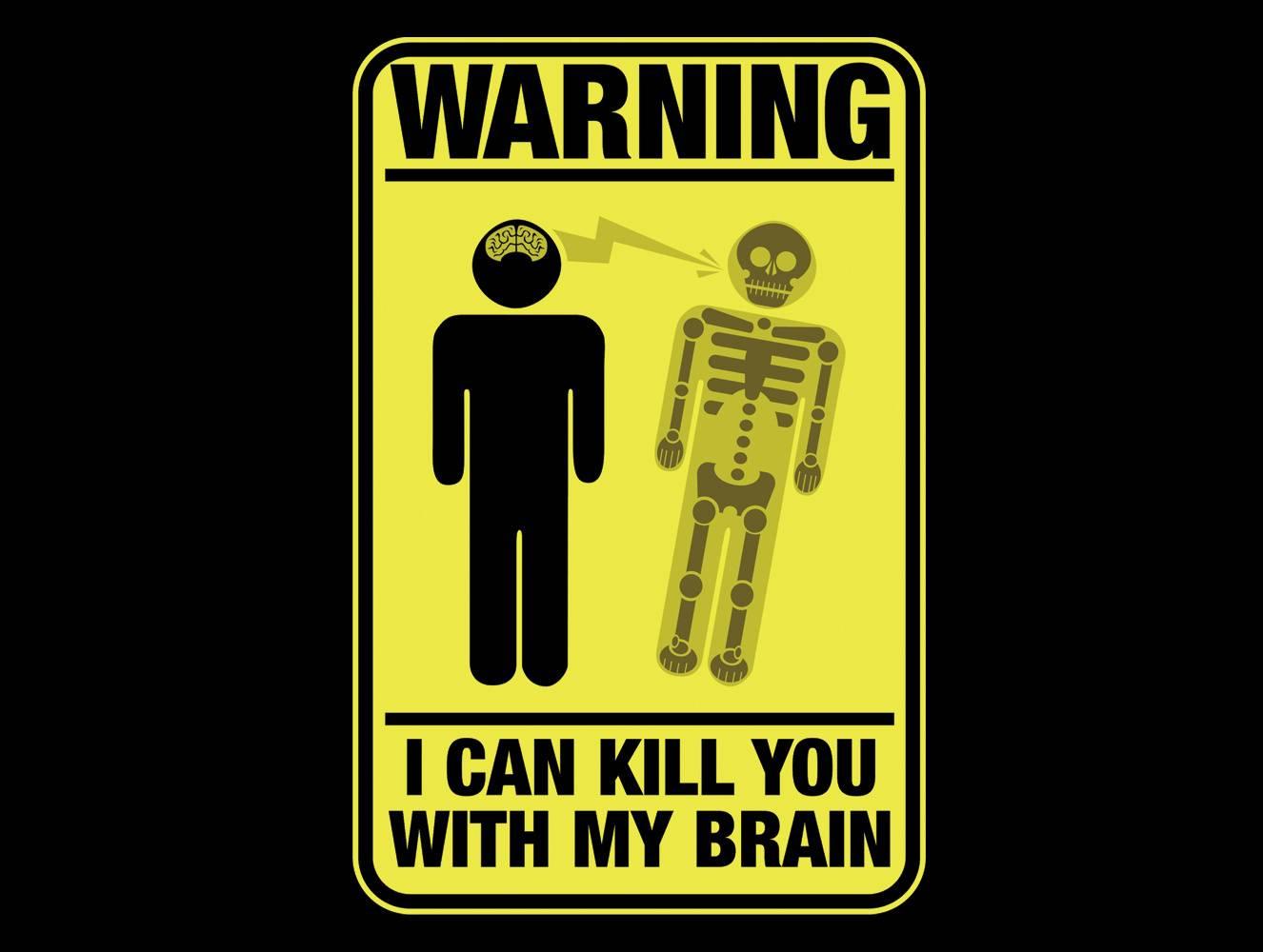With My Brain