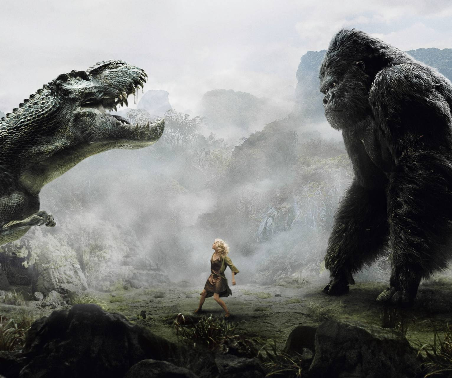T-rex Vs King Kong