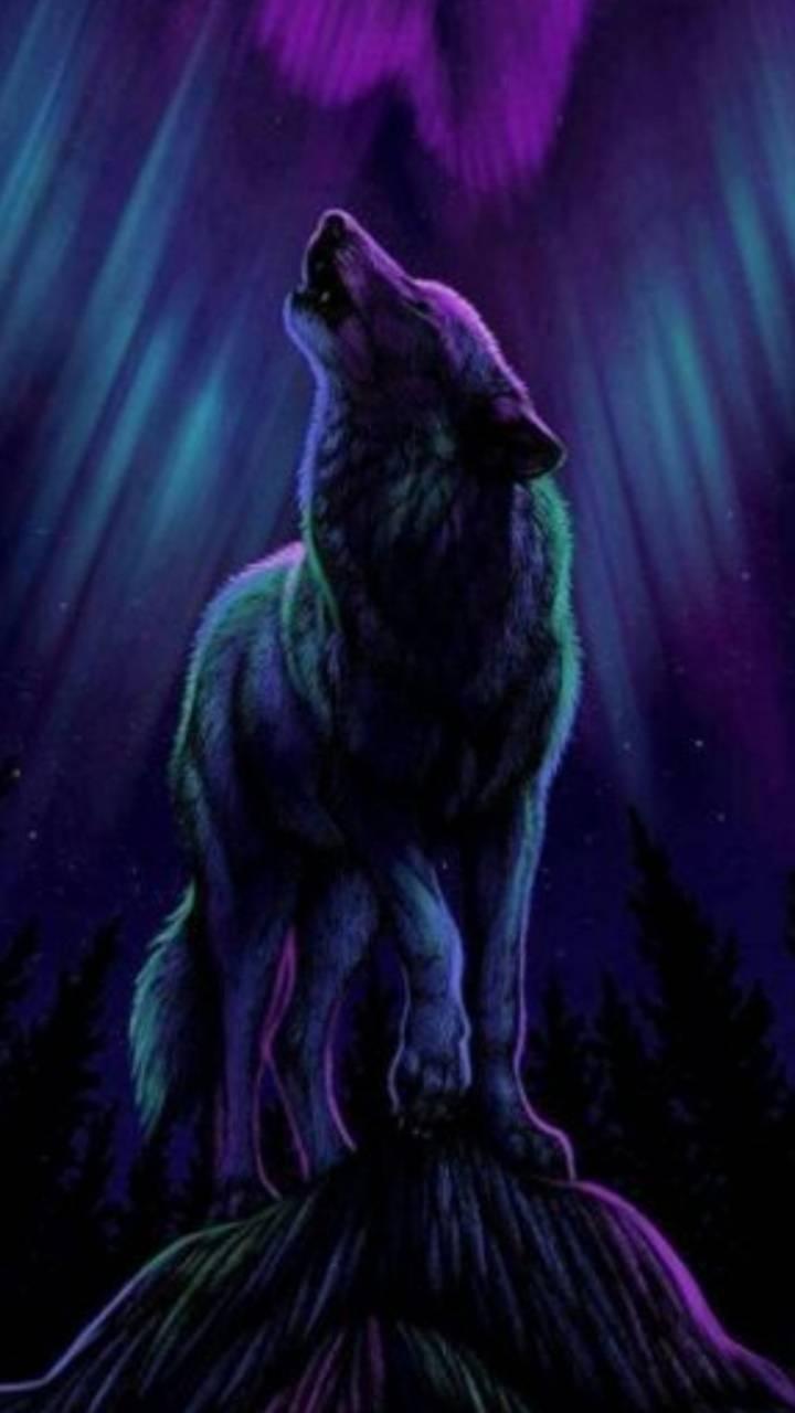 Light Spirit Wolf Wallpaper By Vengencewolf Ac Free On