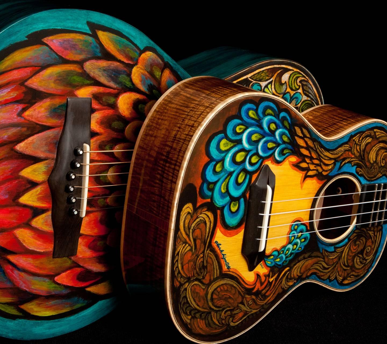 2 beautiful guitars