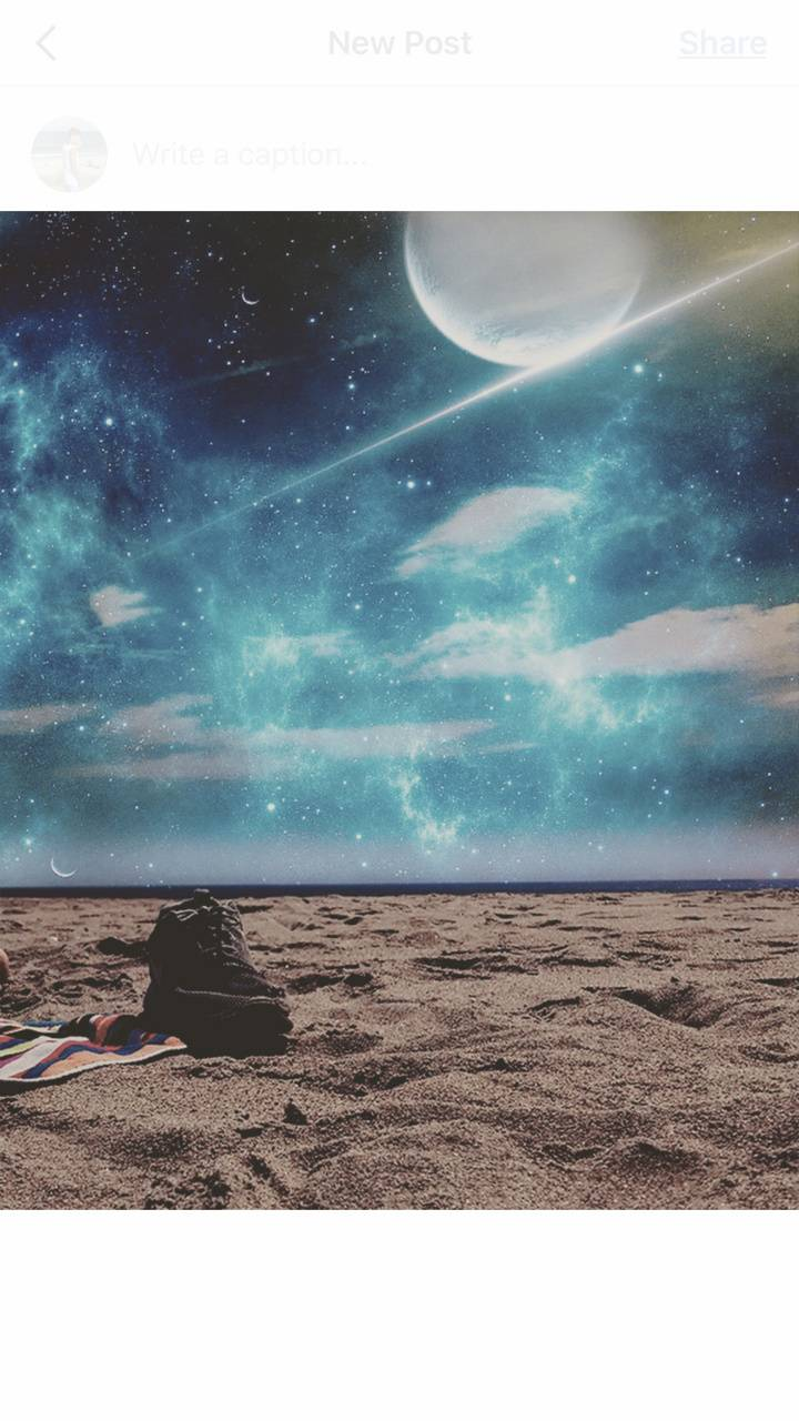 Beach To The Galaxy