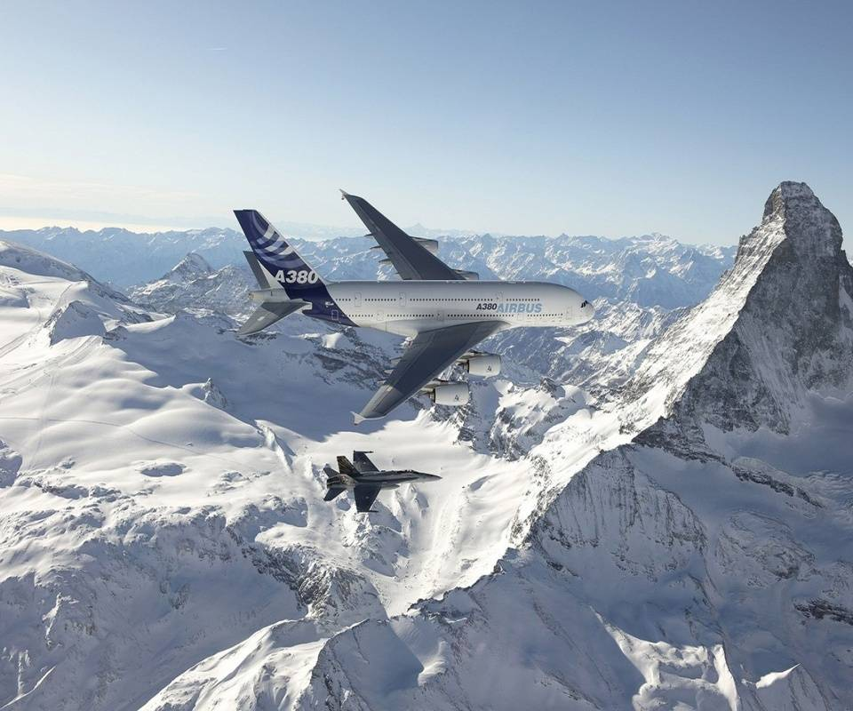 Snowy Aircrafts