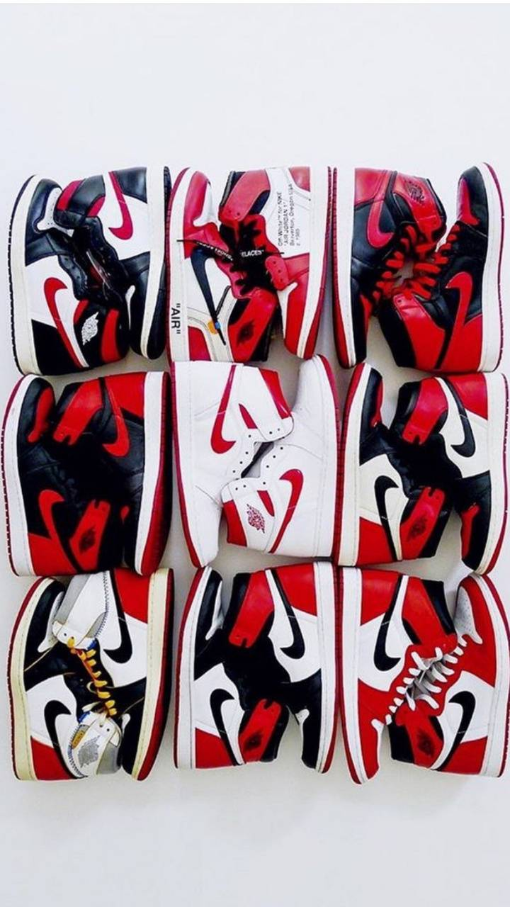 Jordan 1 Red Wallpaper By Guglie23 45 Free On Zedge