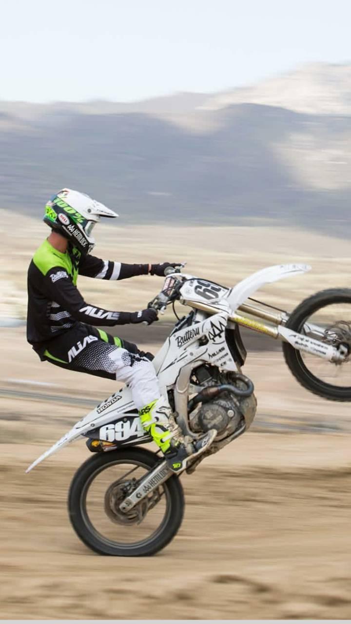 Dirt Bike Wheelie Wallpaper By Harleyrider1586 F1 Free