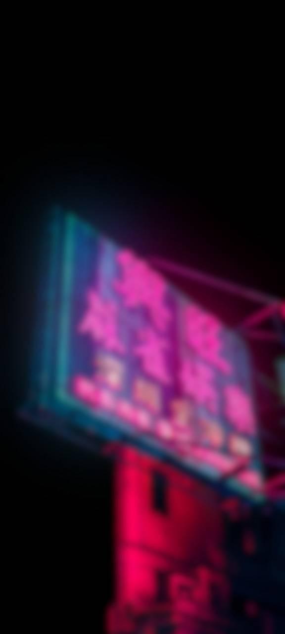Vaporwave Sign BLR