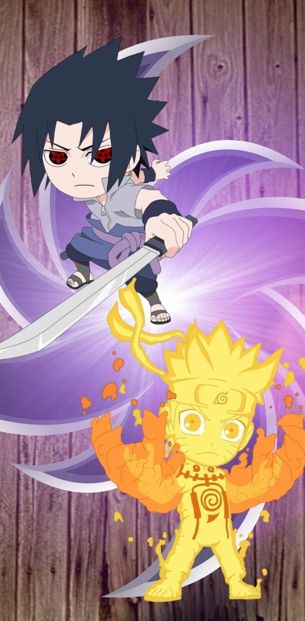 Chibi Naruto Sasuke