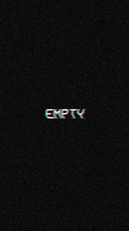Empty white