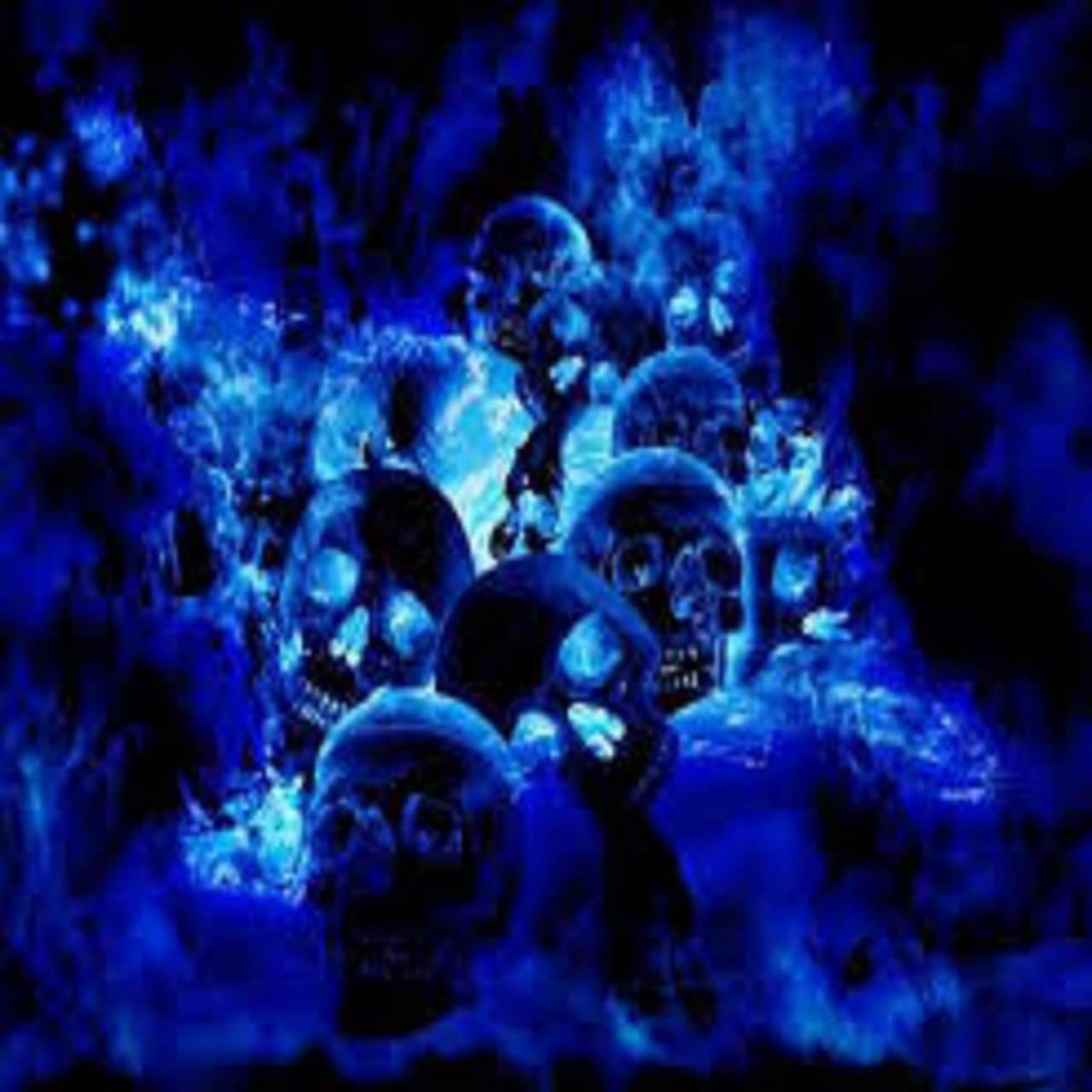 Blue Skull Chaos