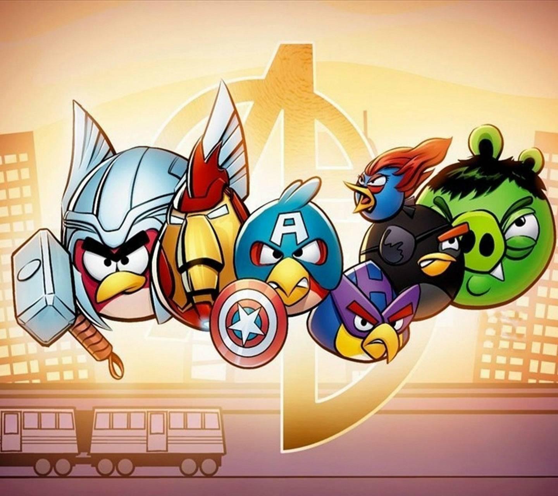 Angry Avengers Hd