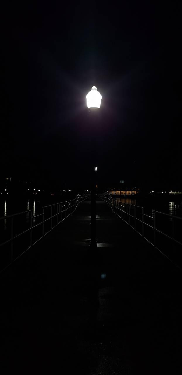 Night peir
