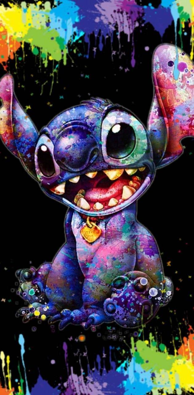 Stitch Color splash