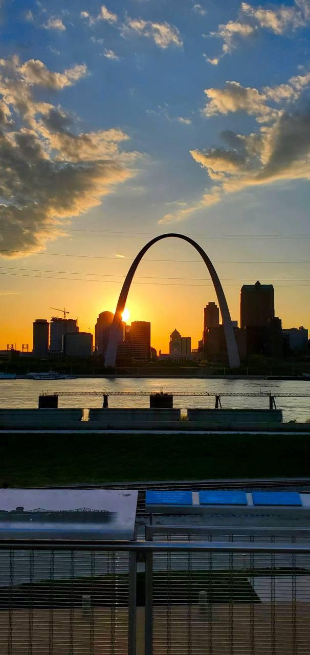 St Louis Sunset 2
