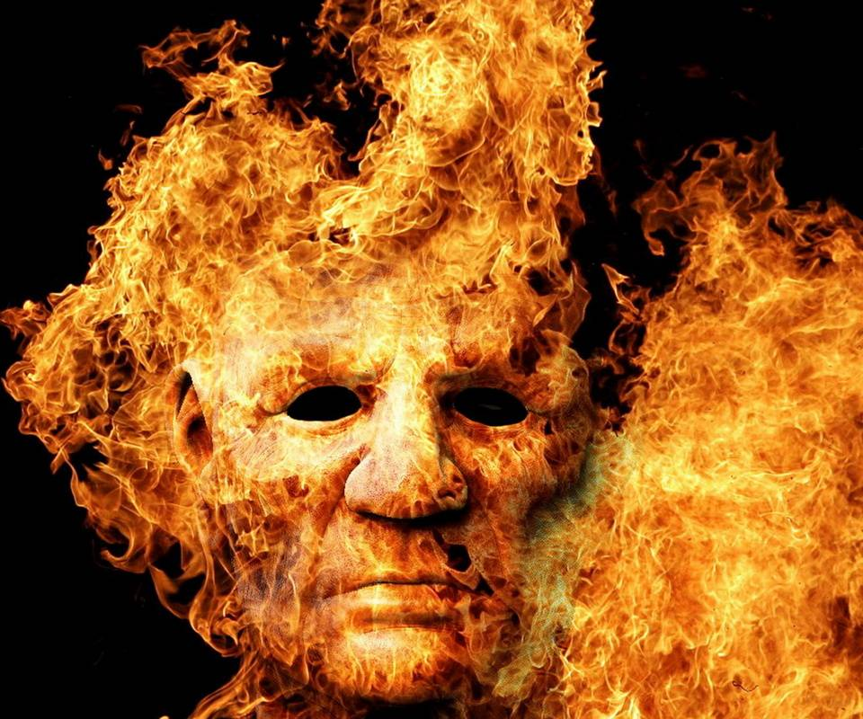 Face In Fire