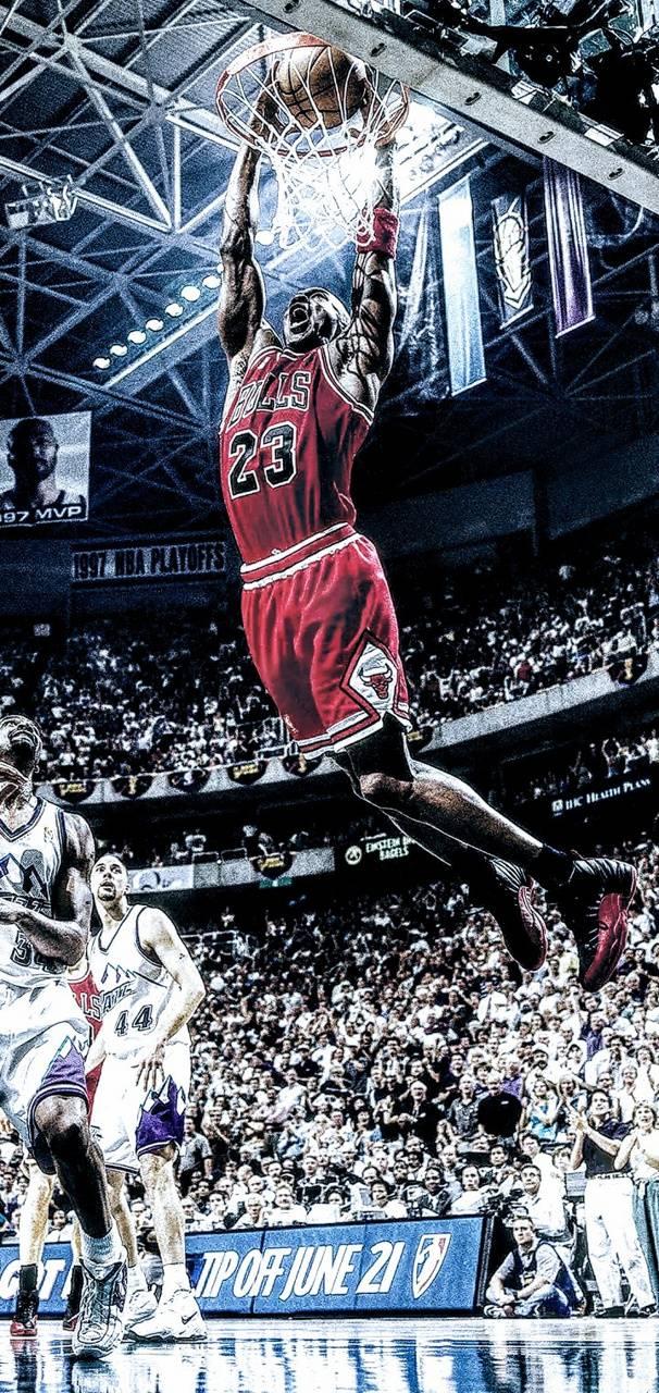 Michael Jordan Dunk Wallpaper By Zoballn2 33 Free On Zedge