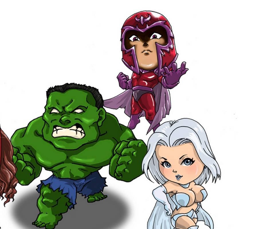 Chibi Marvel