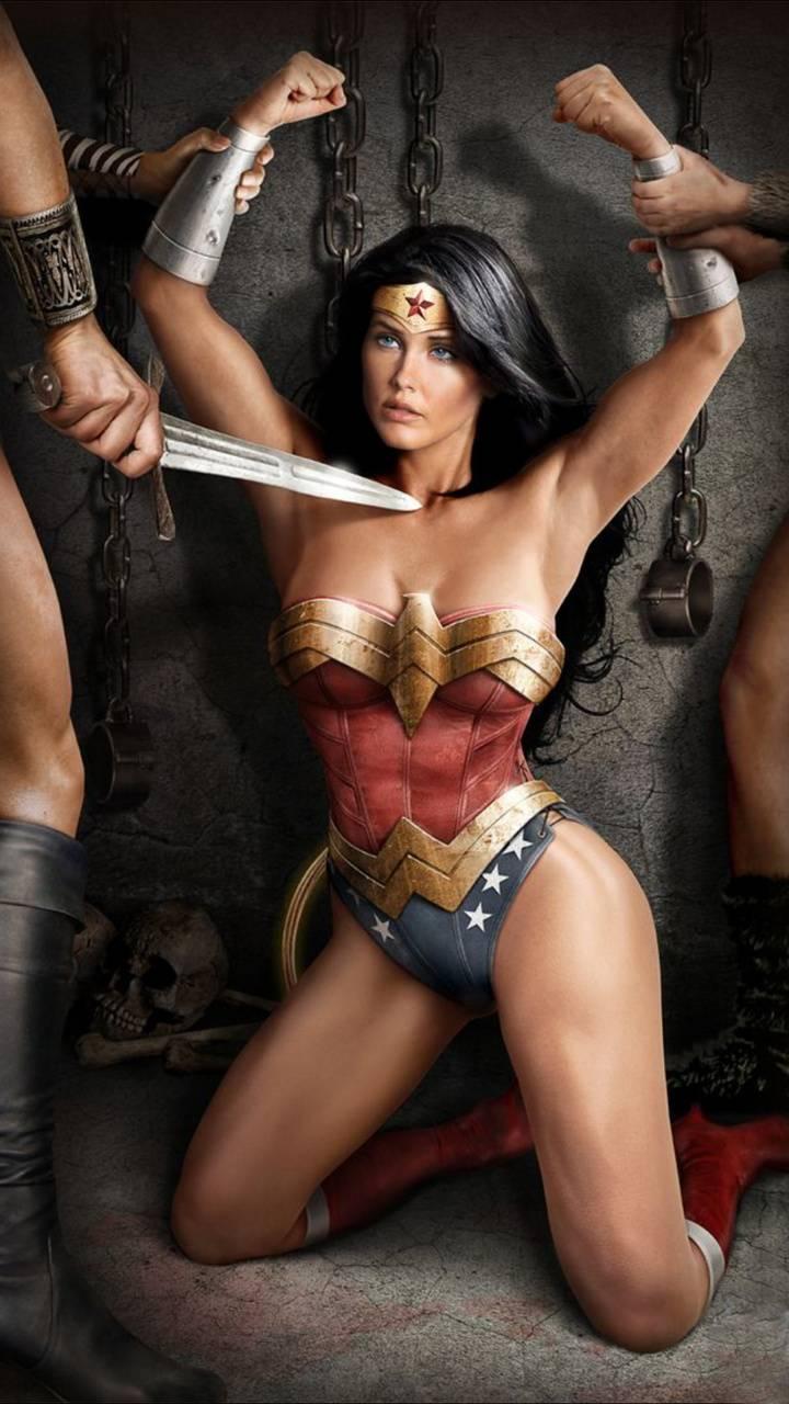Tied up wonderwoman naked, nerdy curvy nudes