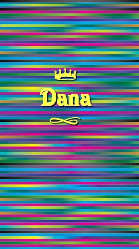 Bright colorful Dana