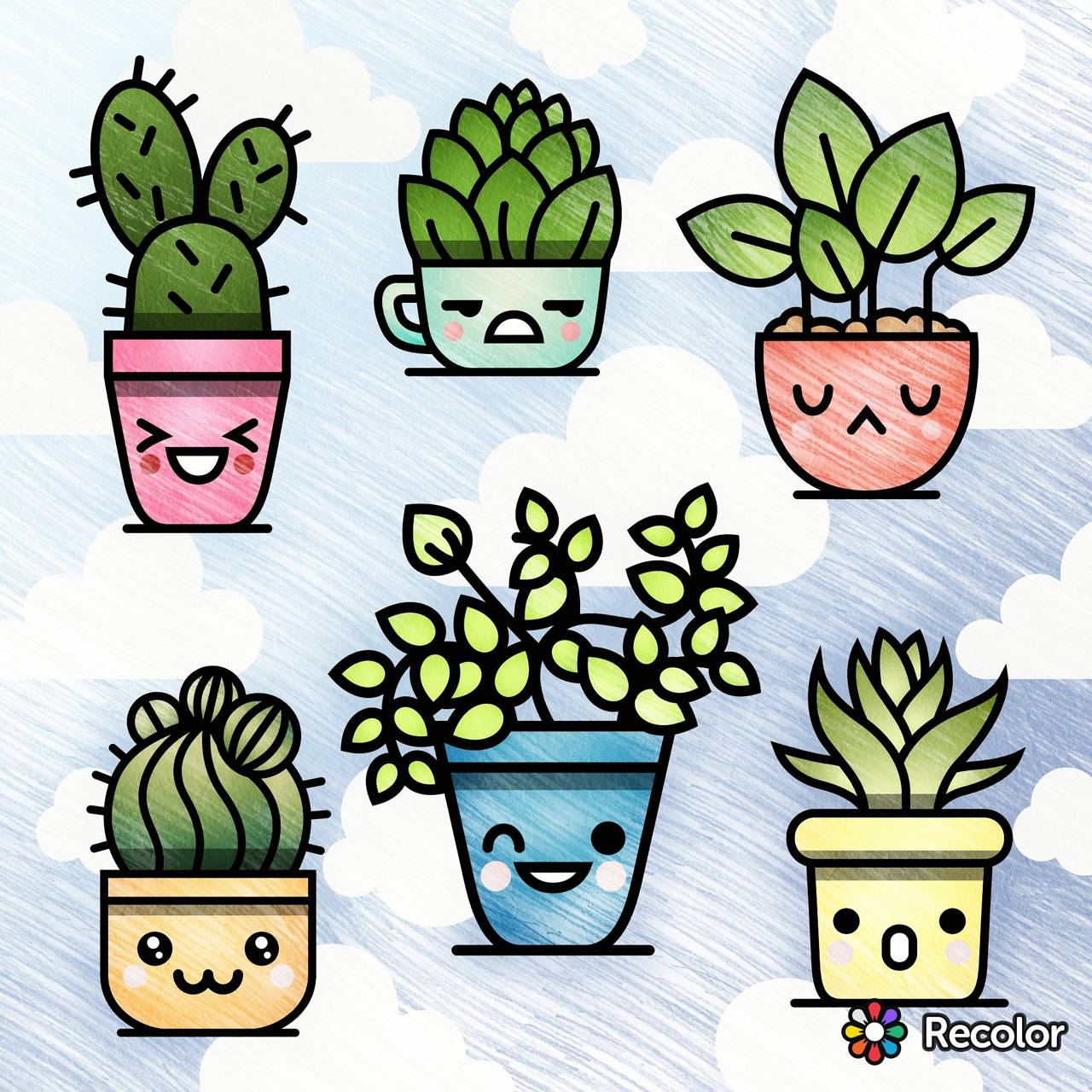 Comical House Plants