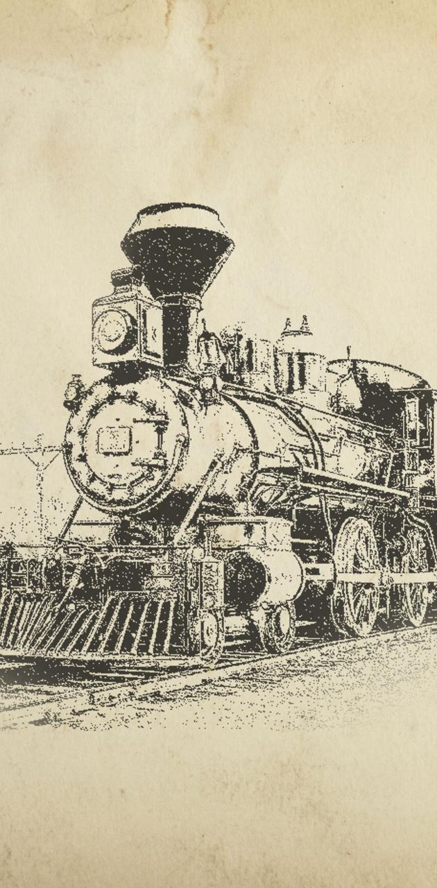 old time train
