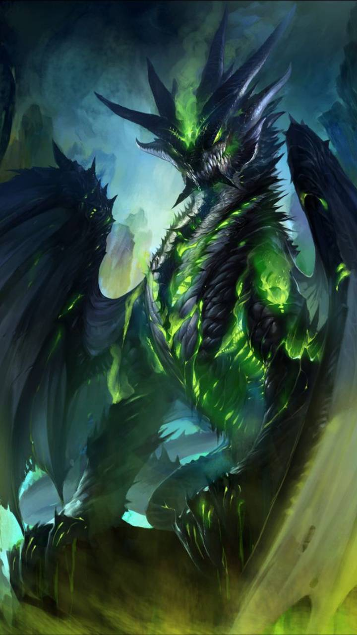 Lime Green Dragon
